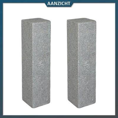Natuursteenvoordelig Palissade Graniet Antra Gebouchardeerd/gevlamd
