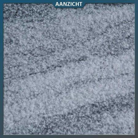 Natuursteenvoordelig Nordic Blue Gebouchardeerd/Geborsteld 60 x 60 x 3 centimeter