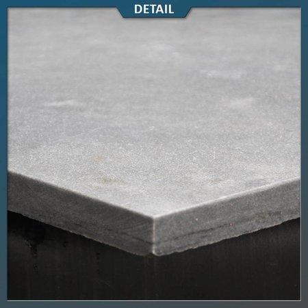 Natuursteenvoordelig Vietnamees Hardsteen Gezandstraald 60x60x3 cm