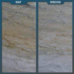Natuursteenvoordelig Braziliaans Kwartsiet Geel Tegel 60 x 40 x 3/5 centimeter