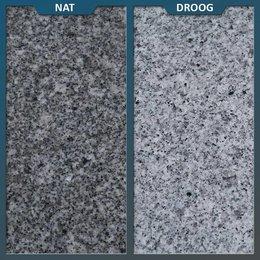 Natuursteenvoordelig Graniet Tegel Lichtgrijs Gevlamd/geborsteld