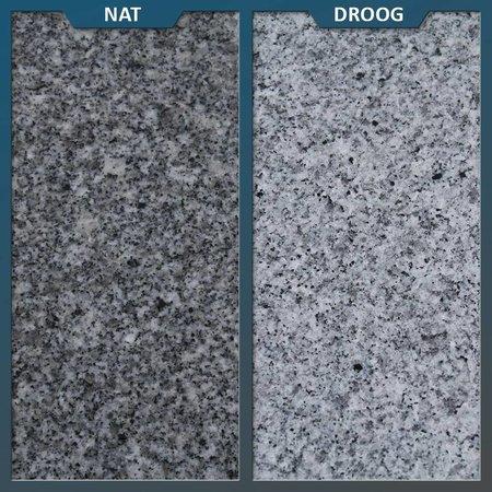 Natuursteenvoordelig Graniet tuintegel G603 Gevlamd/geborsteld