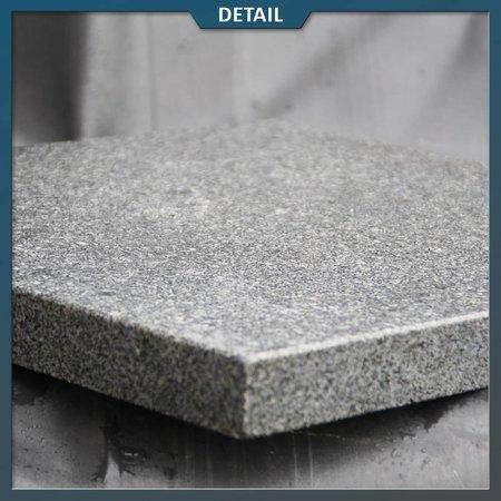Natuursteenvoordelig Graniet tuintegel G654 Antra Gevlamd/geborsteld