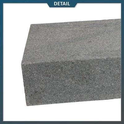 Natuursteenvoordelig Traptrede Graniet G654 Antraciet Gevlamd