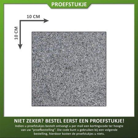 Natuursteenvoordelig Proefstuk Graniet Antra Gevlamd