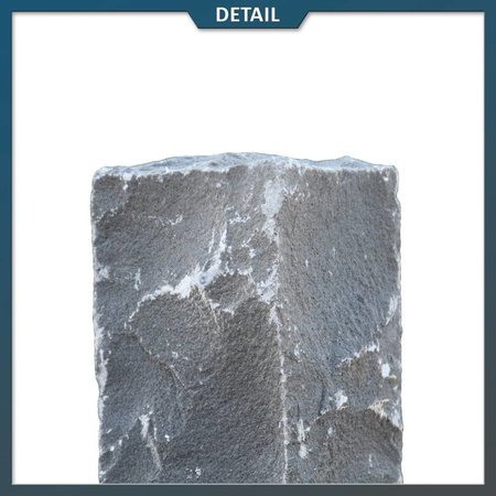 Natuursteenvoordelig Palissade Vietnamees Basalt 12x12 cm