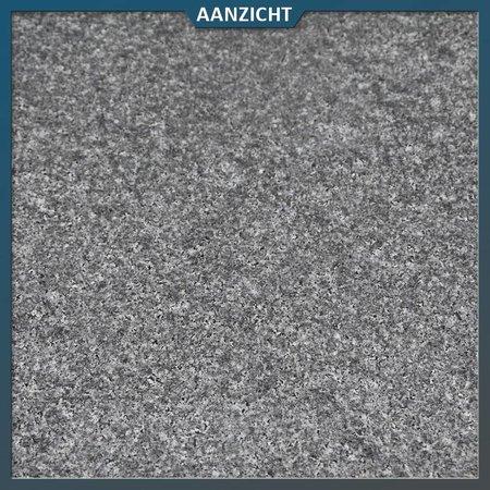 Natuursteenvoordelig Vijverrand Graniet antra gevlamd met facet