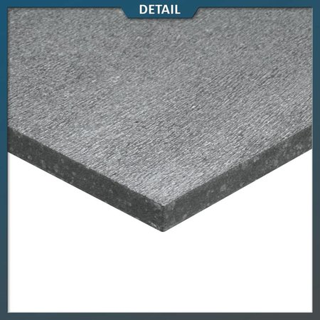 Natuursteenvoordelig Basalt tegel G684 60x60x3 gefrijnd