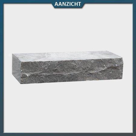 Natuursteenvoordelig Stapelblok Chinees Hardsteen 40x16x8 cm