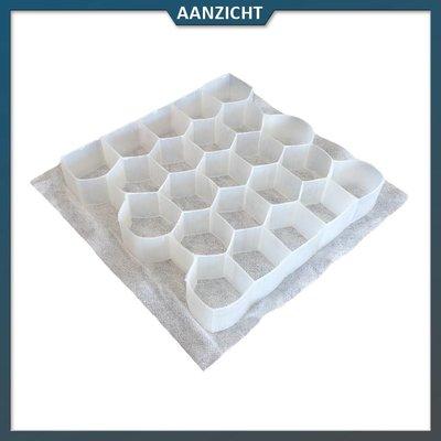 Natuursteenvoordelig Grindplaat wit 120x240x3 cm