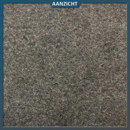 Natuursteenvoordelig Vijverrand graniet Impala hoekstuk