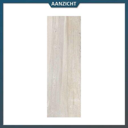Castelvetro Keramische tegel houtlook Aequa Nix 40x120x2 cm