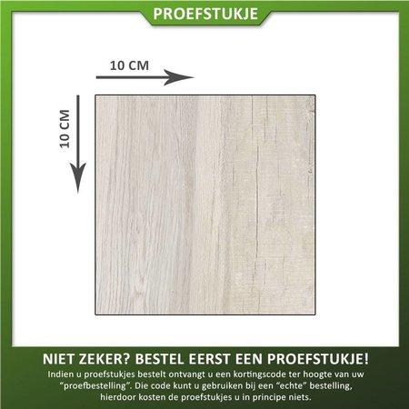 Castelvetro Proefstukje keramische tegel houtlook Aequa Nix