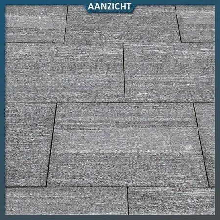 Natuursteenvoordelig Graniet Tegel Gneiss Gevlamd/geborsteld