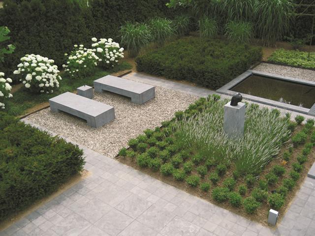Natuursteen tuintegels 100x100