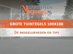 Tuintegels 100x100 cm kopen | Keramiek of Natuursteen | al v.a. € 38,95
