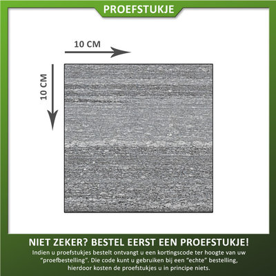 Natuursteenvoordelig Proefstukje Graniet Tegel Gneiss Gevlamd/geborsteld