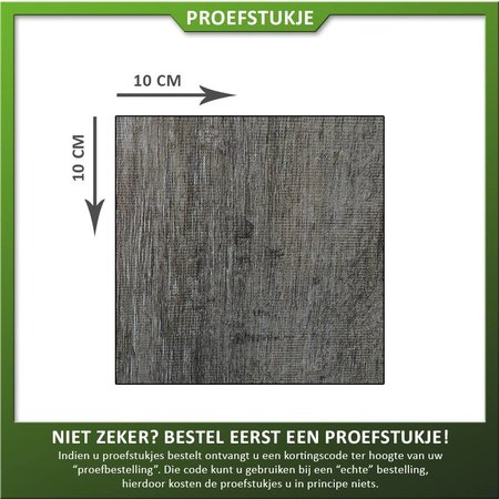 COTTO D'ESTE Proefstukje Keramiek houtlook donker