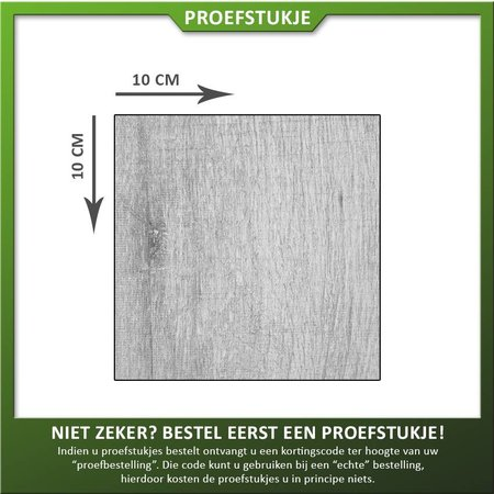 COTTO D'ESTE Proefstukje Keramiek houtlook greywash
