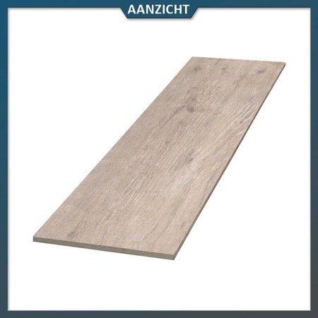 COTTO D'ESTE Keramische tegel houtlook Beige 120x30x2 cm (Cotto d'Este)