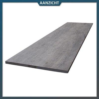 COTTO D'ESTE Keramische tegel houtlook Donker 120x30x2 cm