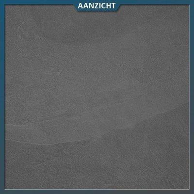 Keramische tegel mustang slate black 60x60x2 cm