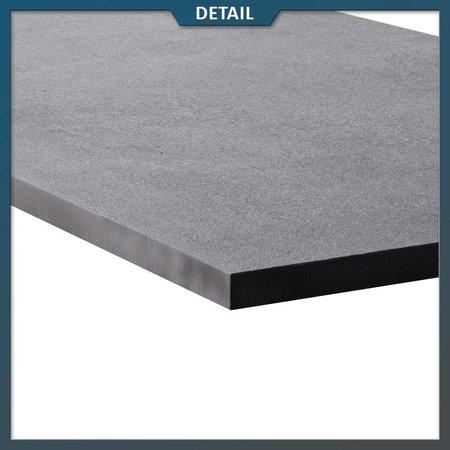 Natuursteenvoordelig Keramische tegel Hi Thick Dark Matrix 45x90x2 cm