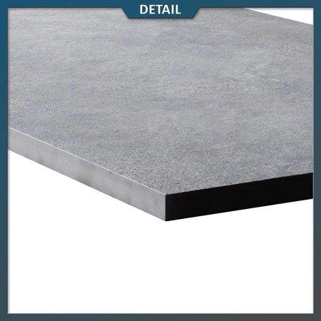 Natuursteenvoordelig Keramische tegel Hi Thick Silver Matrix 45x90x2 cm