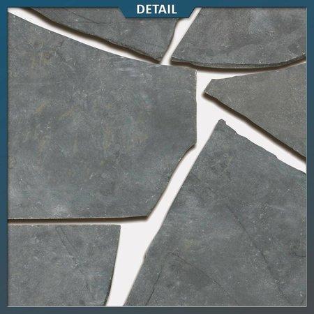 Natuursteenvoordelig Chinees Hardsteen Flagstones (2,5 - 3 cm dik)