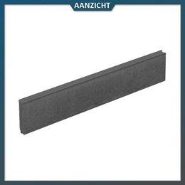 Natuursteenvoordelig Opsluitband Beton zwart