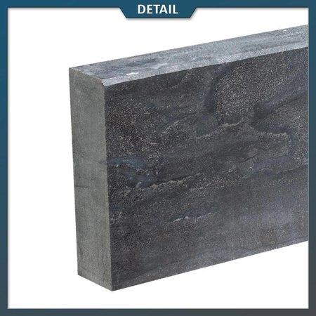 Natuursteenvoordelig Opsluitband Chinees Hardsteen met facet