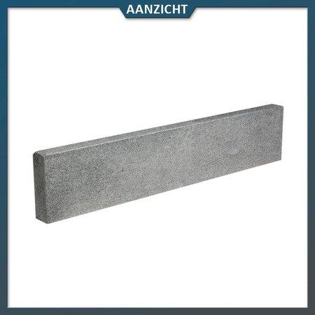 Natuursteenvoordelig Opsluitband Graniet Antraciet gevlamd
