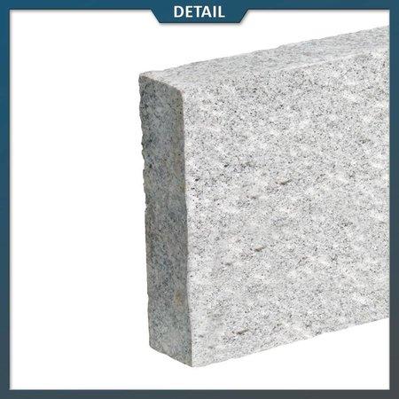 Natuursteenvoordelig Opsluitband Graniet lichtgrijs