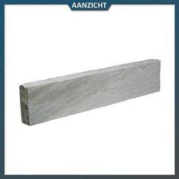 Natuursteenvoordelig Opsluitband Zandsteen Autumn Grey 8x20x100 cm