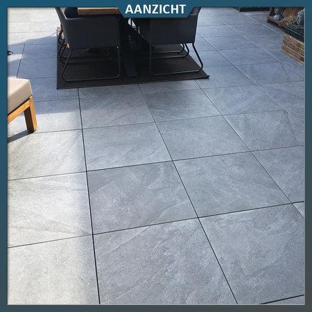 Castelvetro Tuintegel Castelvetro Slate Antracite 60x60x2 cm
