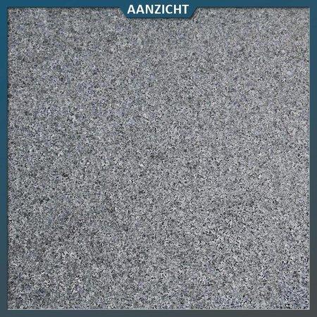 Natuursteenvoordelig Graniet tegel G654 Antra Gevlamd