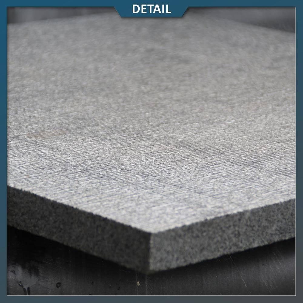 Antraciet Tegels 60x60.Graniet Tegel Antra Gefrijnd 60 X 60 X 3 Cm
