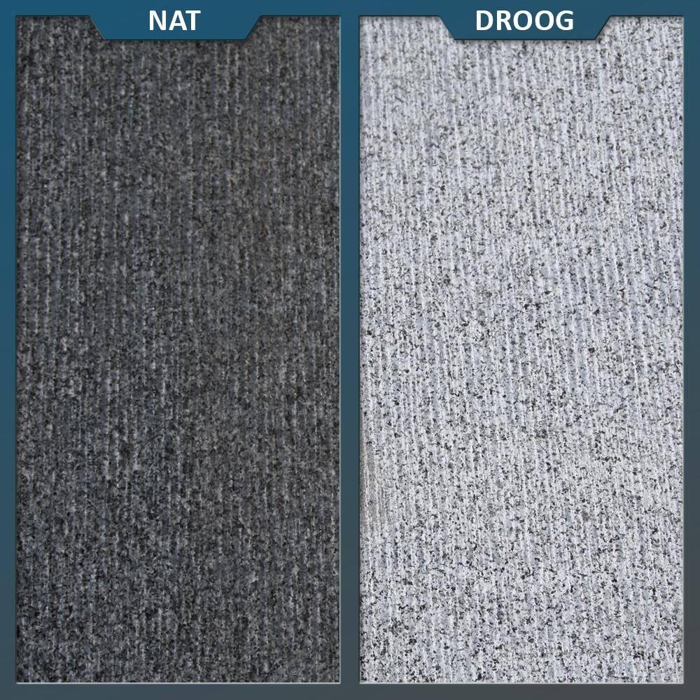 Natuursteen Tuintegels 60x60.Graniet Tegel Antra Gefrijnd 60 X 60 X 3 Cm