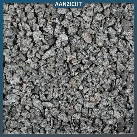 Natuursteenvoordelig Graniet split grijs 32-56 mm