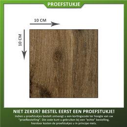 Castelvetro Proefstukje Keramische tegel houtlook Aequa Castor