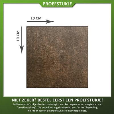 Castelvetro Proefstukje keramische tegel Land Brown