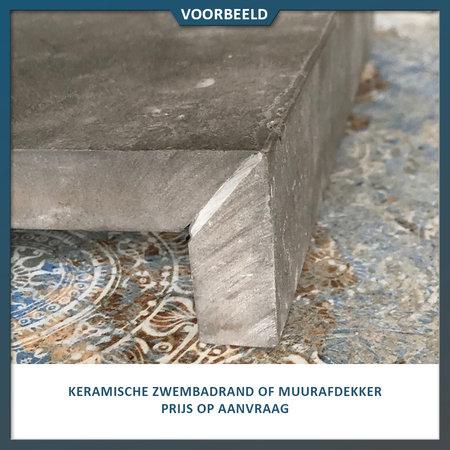 Castelvetro Keramische tegel Absolute Nero 40x80x2 cm (Castelvetro)