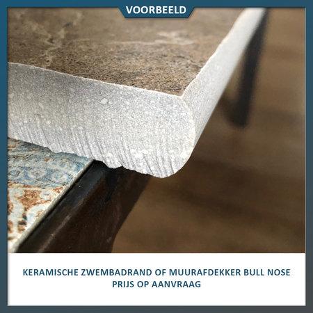 Castelvetro Keramische tegel houtlook Aequa Cirrus 40x120x2 cm