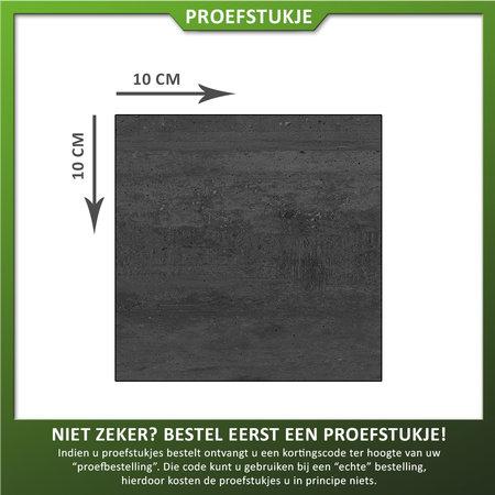 Castelvetro Proefstukje Keramische tegel Deck Black