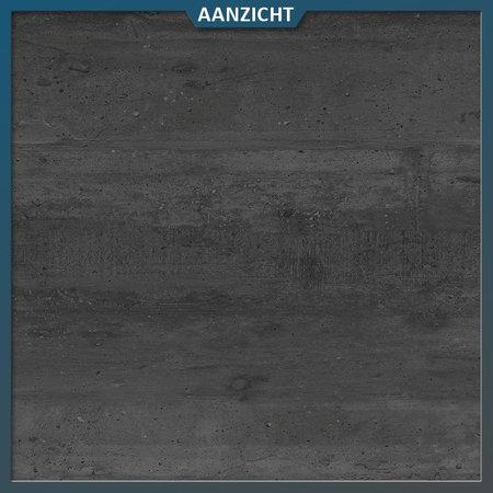 Castelvetro Keramische tuintegel Deck Black 40x120x2 cm