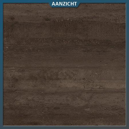Castelvetro Keramische tegel Deck Brown 40x120x2 cm