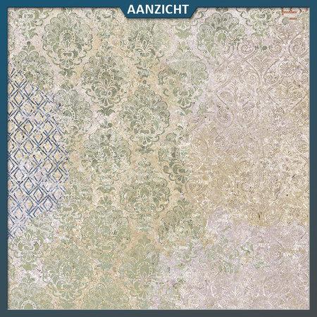 Natuursteenvoordelig Keramische tegel Bohemian Blend 50x100x2 cm