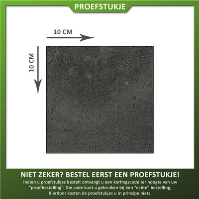 Castelvetro Proefstukje keramische tegel Fusion Antracite