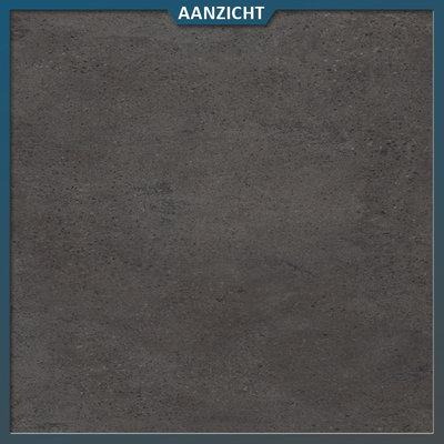 Castelvetro Keramische tegel Konkrete Nero 100x100x2 cm