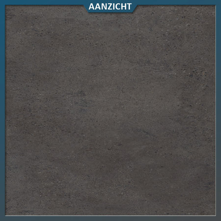 Castelvetro Keramische tuintegel Konkrete Nero 100x100x2 cm